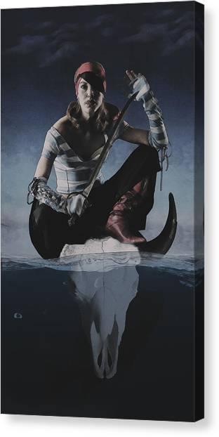 Avast Ye Pirate Canvas Print