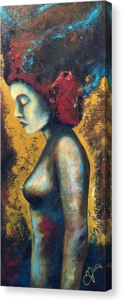 Avatar Canvas Print by Estela Gama