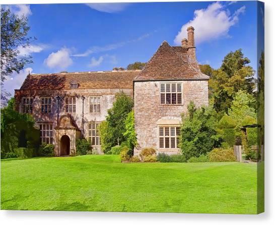 Avebury Manor -2 Canvas Print