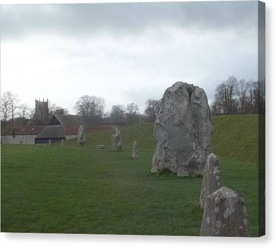 Avebury Stone Henge Canvas Print