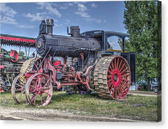 Avery 40 Hp  Canvas Print