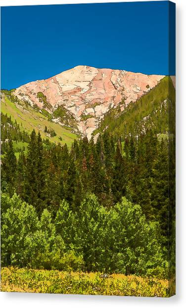Avery Peak Canvas Print