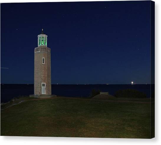 University Of Connecticut Canvas Print - Avery Point 0003 by Jeff Stallard