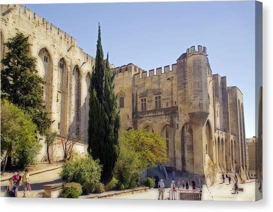 Avignon - Palais Des Papes Canvas Print