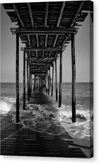 Avon Fishing Pier Canvas Print