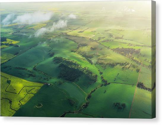 Avon Valley Canvas Print by Neal Pritchard Photography