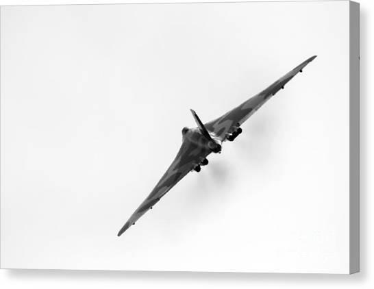 Vulcans Canvas Print - Avro Vulcan Xh558 by J Biggadike