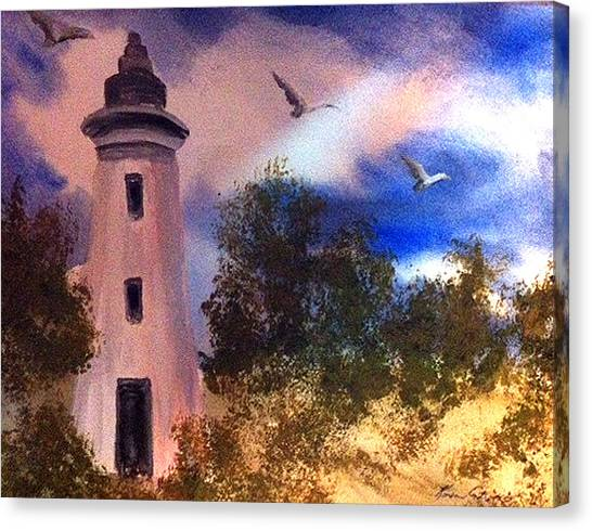 Awake At Dawn Canvas Print by Karen  Condron