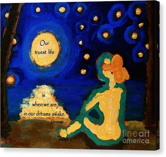 Awake In Our Dreams  Canvas Print