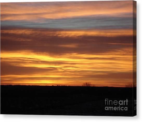 Awaken The Day Canvas Print