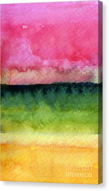 Colorful Canvas Print - Awakened by Linda Woods