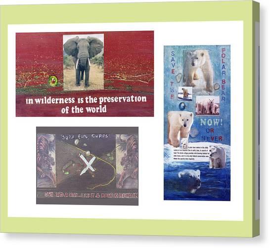 Awareness Group  Canvas Print