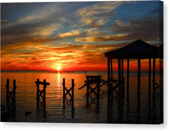 Awoke And Saw His Glory. Canvas Print
