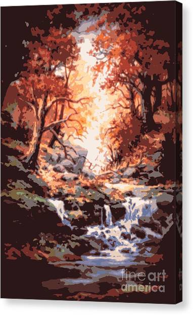 Awsom  Canvas Print by W  Scott Fenton