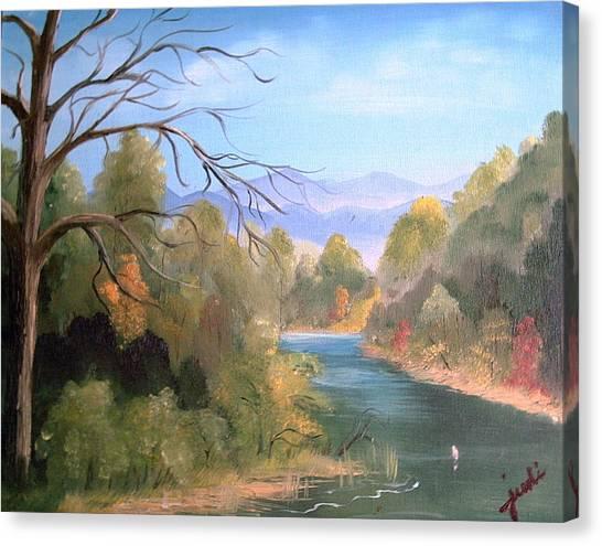 Az High Country Canvas Print by Judi Pence
