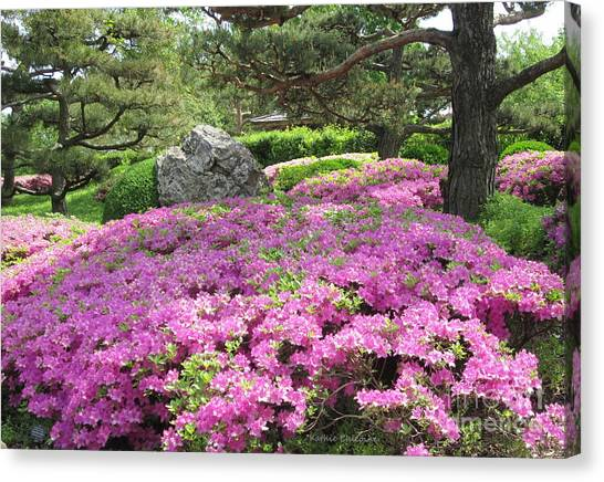 Azalea Path Canvas Print