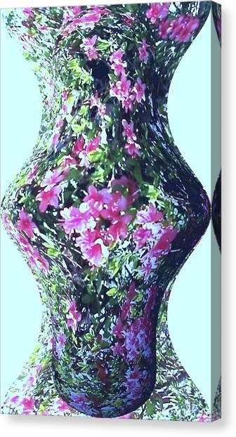 Azalea Vase Canvas Print