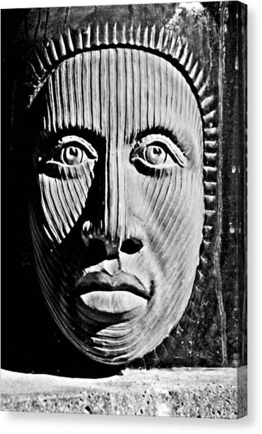 Aztec Man Canvas Print