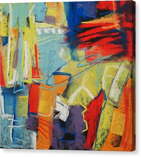 Azul Wisp Canvas Print