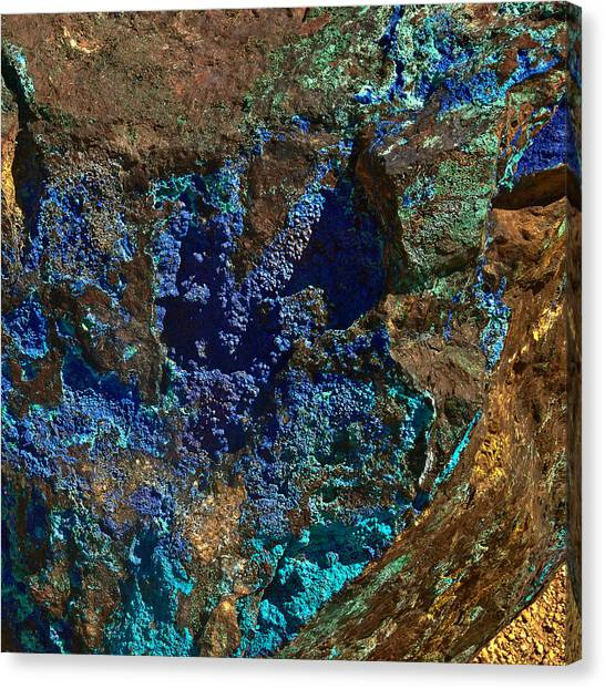 Azurite Canvas Print