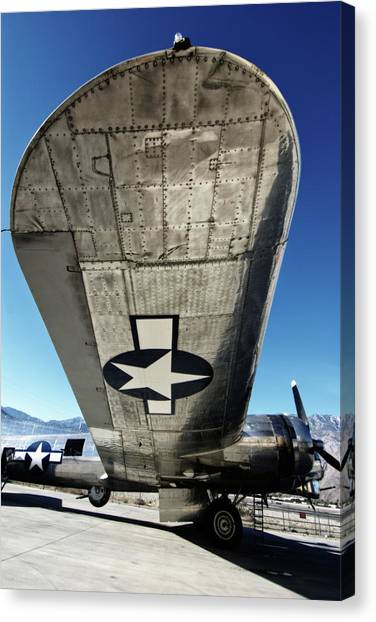 B 17 Sentimental Journey Canvas Print