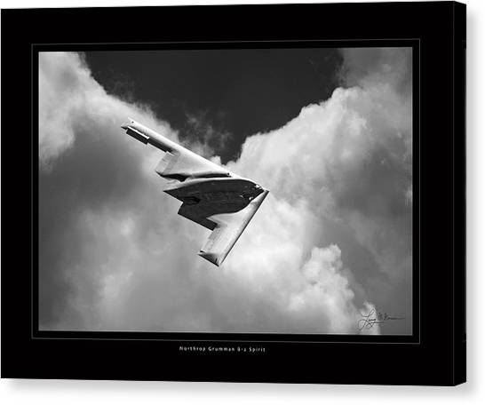 B-2 Spirit Canvas Print by Larry McManus