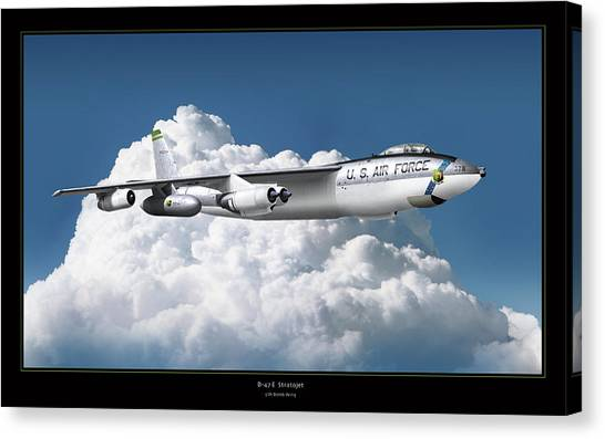 B-47 Stratofortress Canvas Print by Larry McManus