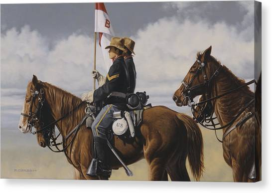 B Troop Canvas Print