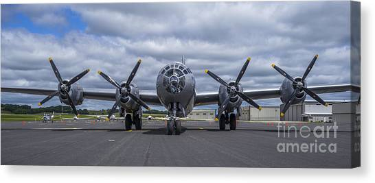B29  Superfortress Canvas Print