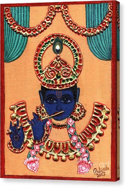 Baansuri Krishna Canvas Print