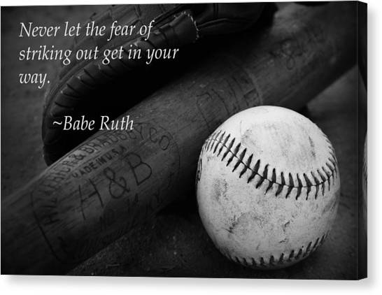 Baseball Quote Endearing Baseball Quote Canvas Prints  Fine Art America