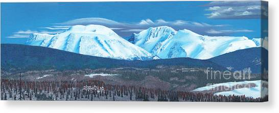 Babine Mountain Range Canvas Print