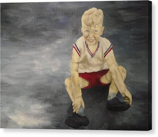 Baby Bill  Canvas Print