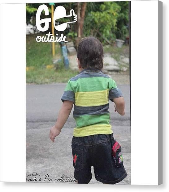 Shakira Canvas Print - #baby #boy #walk #out #cute #instagood by Inas Shakira