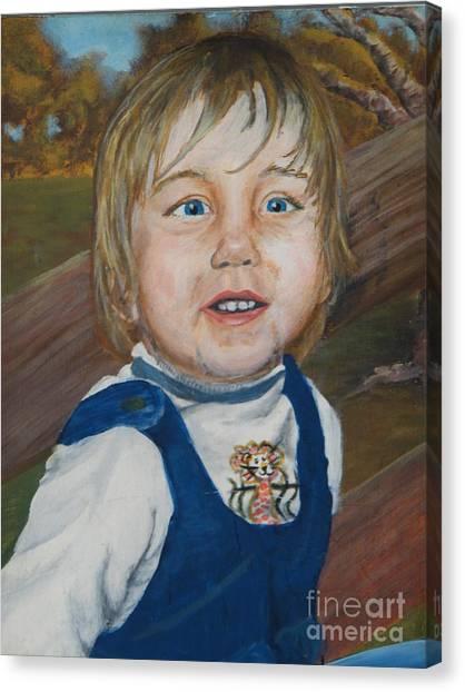 Baby Bro Canvas Print