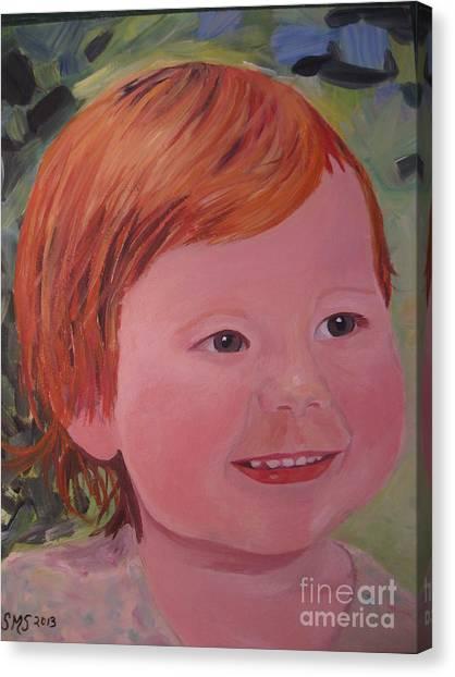 Baby Cheeks Canvas Print