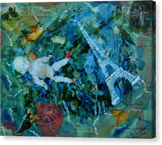 Baby Paris Canvas Print