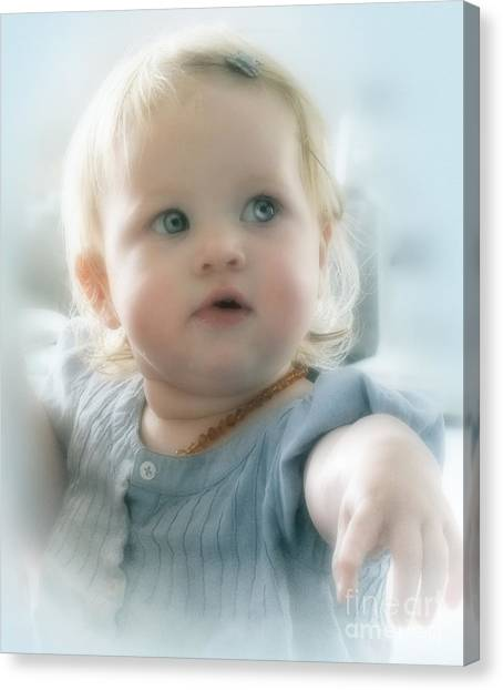 Baby's Got Blue Eyes Canvas Print