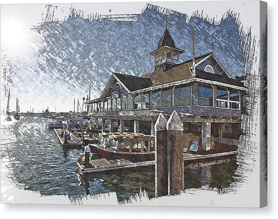 Back Bay Canvas Print