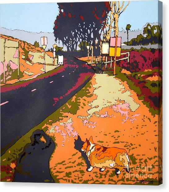 Back Bay Trail #567 Canvas Print by Max Yamada
