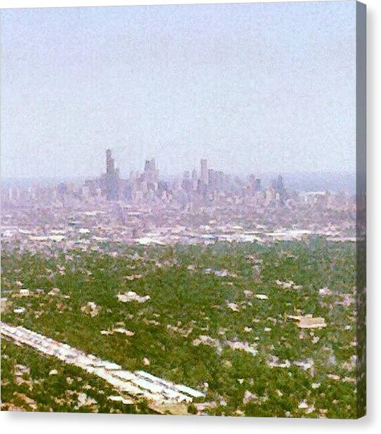 Sears Tower Canvas Print - Back In My City by Jill Tuinier