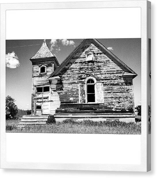 Schools Canvas Print - Back In Time by Aaron Kremer