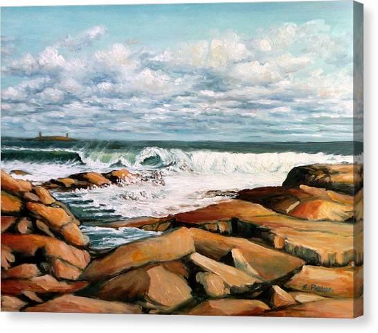 Back Shore Gloucester Canvas Print