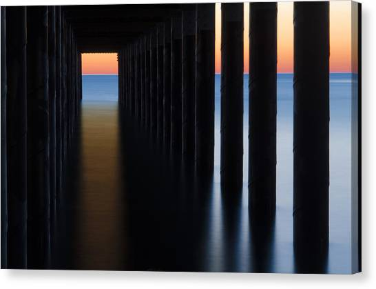 Back Under The Pier Canvas Print