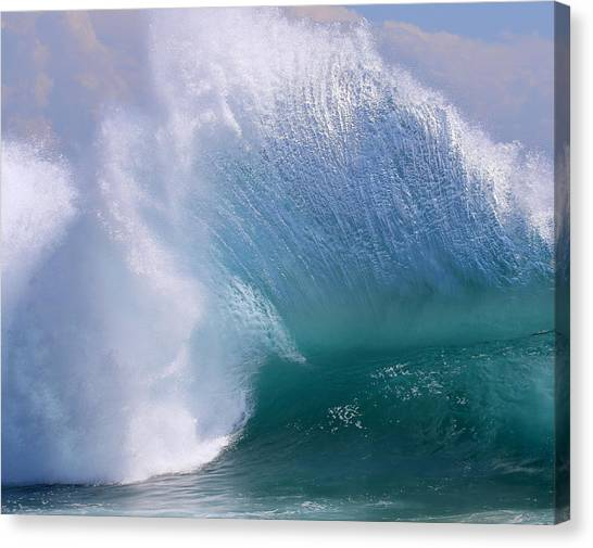 Backwash Beauty Canvas Print