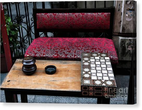Backgammon Canvas Print - Backgammon by John Rizzuto