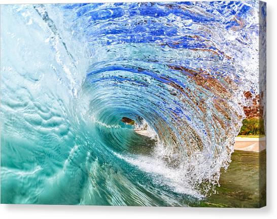 Backwash Flare Canvas Print by Gregg  Daniels