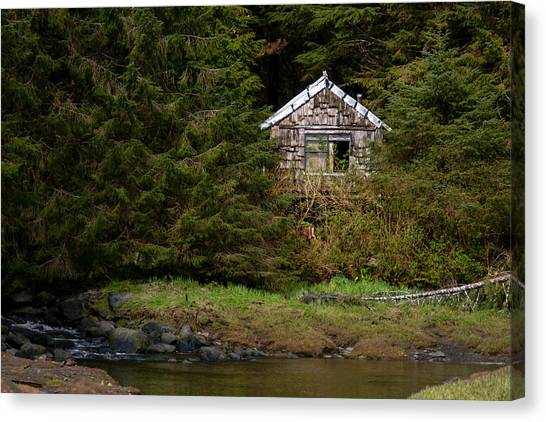 Backwoods Shack Canvas Print