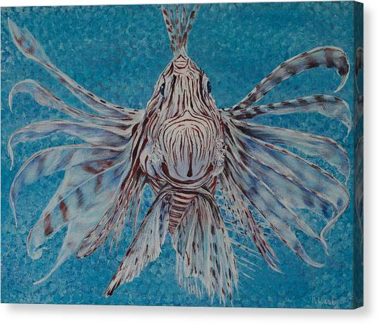Bad Fish Canvas Print