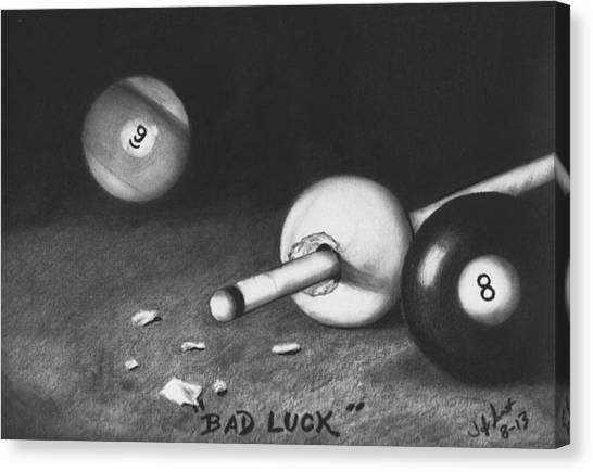 Espn Canvas Print - Bad Luck by Toby Smith